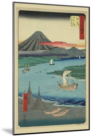 Ejiri-Ando Hiroshige-Mounted Art Print