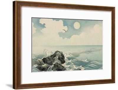 Kojima Island--Framed Art Print