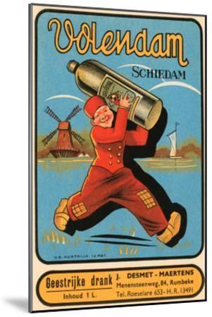Volendam Schiedam--Mounted Art Print