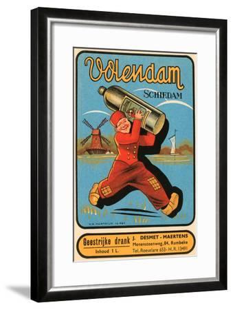 Volendam Schiedam--Framed Art Print