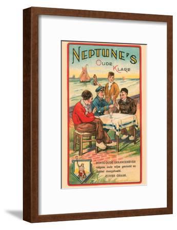 Neptune's Oude Klare- Litho Myncke-Framed Art Print