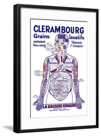 Clerambourg Grains Laxatifs--Framed Art Print