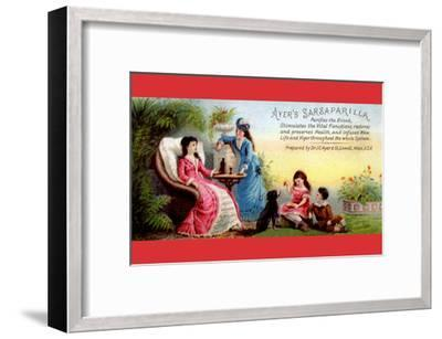 Ayer's Sarsaparilla Purifies the Blood--Framed Art Print