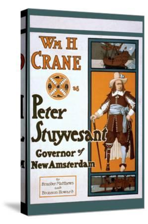 Peter Stuyvesant Dutch Governor of New York--Stretched Canvas Print