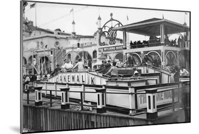 Coney Island--Mounted Art Print