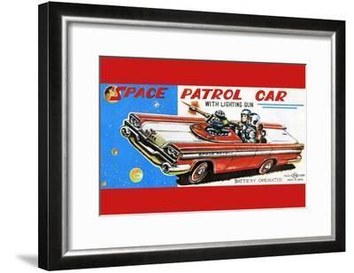 Space Patrol Car--Framed Art Print