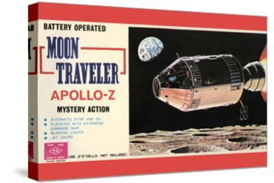 Moon Traveler Apollo-Z--Stretched Canvas Print