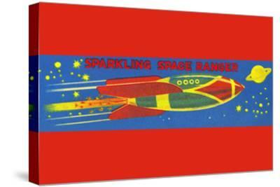 Sparkling Space Ranger--Stretched Canvas Print