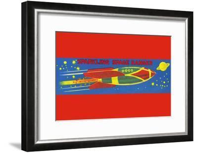 Sparkling Space Ranger--Framed Art Print