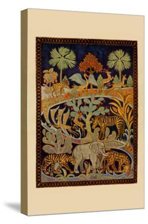 Animal Tapestry-Needlecraft Magazine-Stretched Canvas Print