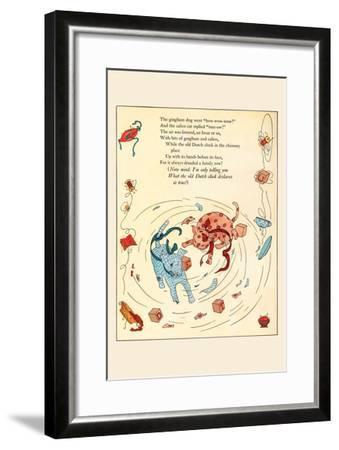 The Fight-Eugene Field-Framed Art Print