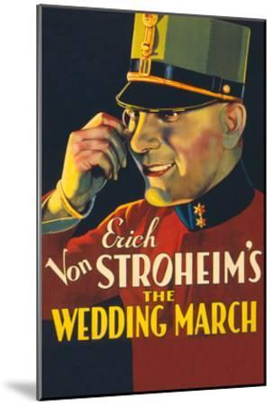 The Wedding March- Paramount-Mounted Art Print