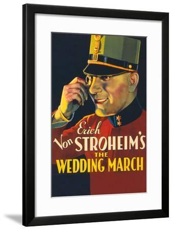 The Wedding March- Paramount-Framed Art Print