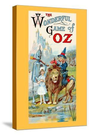 The Wonderful Game of Oz-John R^ Neill-Stretched Canvas Print