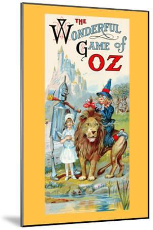 The Wonderful Game of Oz-John R^ Neill-Mounted Art Print