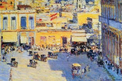 Havana, Cuba-Childe Hassam-Stretched Canvas Print