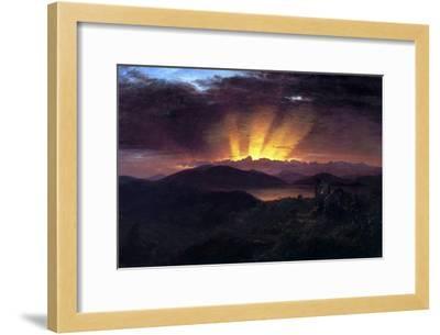 After the Annealing-Frederic Edwin Church-Framed Art Print
