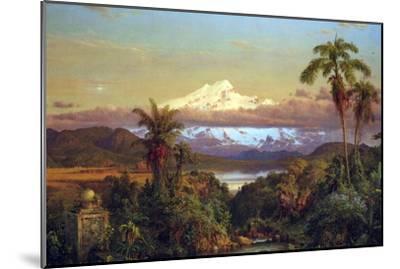Cayambe, Ecuador-Frederic Edwin Church-Mounted Art Print