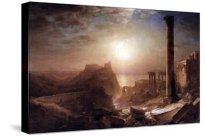 Syria on the Sea-Frederic Edwin Church-Stretched Canvas Print