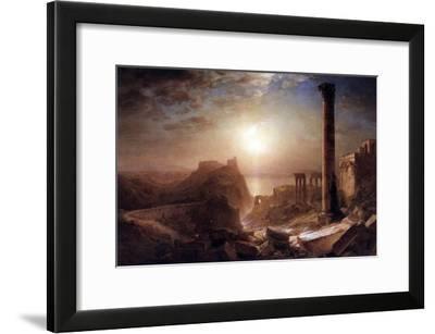 Syria on the Sea-Frederic Edwin Church-Framed Art Print