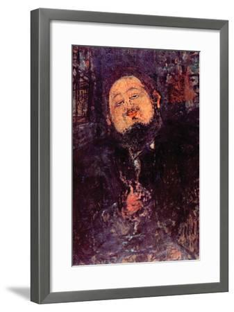 Diego Rivera-Amedeo Modigliani-Framed Art Print