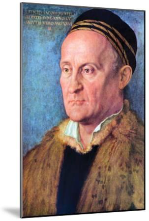 Portrait of Jacob Muffel-Albrecht D?rer-Mounted Art Print