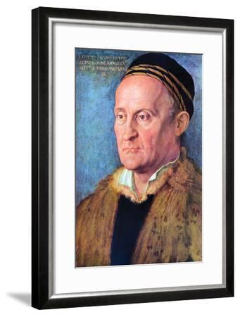 Portrait of Jacob Muffel-Albrecht D?rer-Framed Art Print