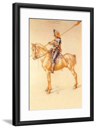 Rider in the Armor-Albrecht D?rer-Framed Art Print