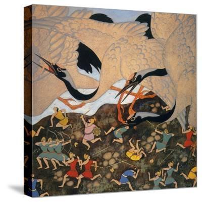 Hawthorne: Tanglewood-Edmund Dulac-Stretched Canvas Print