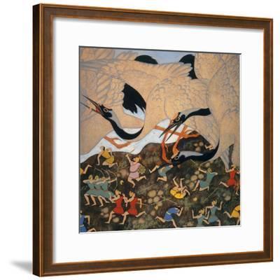 Hawthorne: Tanglewood-Edmund Dulac-Framed Giclee Print