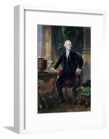 Alexander Hamilton--Framed Giclee Print
