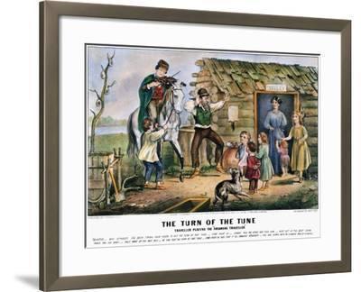 Folk Tradition, 1870-Currier & Ives-Framed Giclee Print