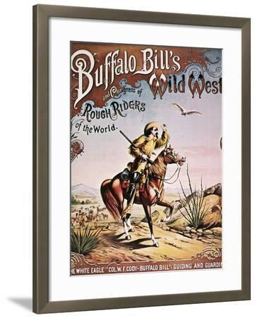 Buffalo Bill: Poster, 1893--Framed Giclee Print