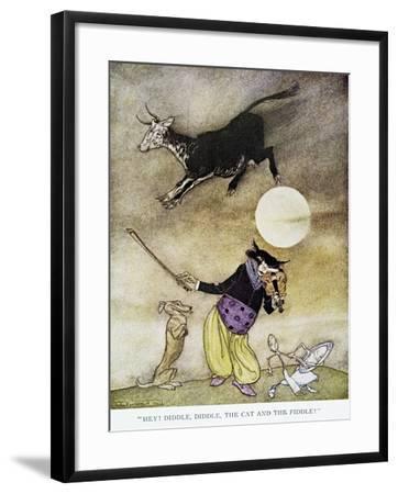 Mother Goose, 1913-Arthur Rackham-Framed Giclee Print