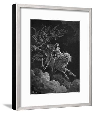 Vision of Death-Gustave Dor?-Framed Giclee Print