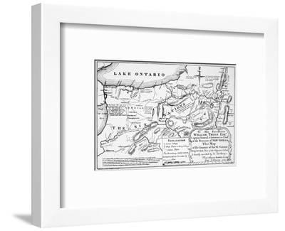 Six Nations: Map, 1771-Guy Johnson-Framed Premium Giclee Print