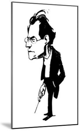 Gustav Mahler (1860-1911)--Mounted Giclee Print