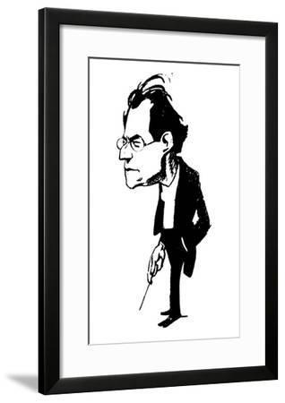 Gustav Mahler (1860-1911)--Framed Giclee Print