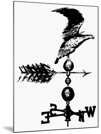 Weathervane, 19th Century--Mounted Giclee Print