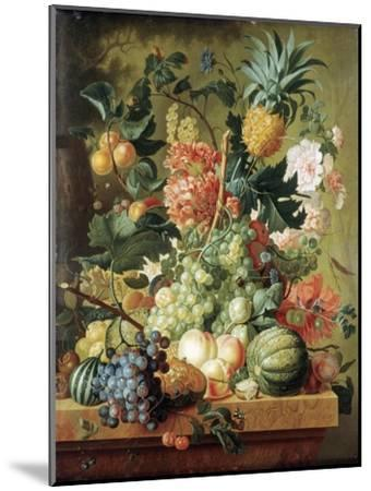 Brussel: Fruits, 1789-Paul Theodor van Brussel-Mounted Giclee Print