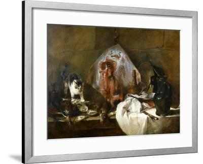 Chardin: The Skate-Jean-Baptiste Simeon Chardin-Framed Giclee Print