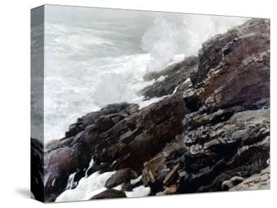 Homer: High Cliff, 1894-Winslow Homer-Stretched Canvas Print