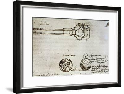 Leonardo Da Vinci-Leonardo da Vinci-Framed Giclee Print