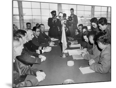 Korean War, 1953--Mounted Giclee Print