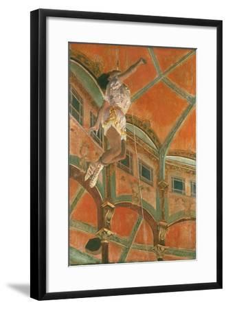 Degas: Miss La La-Edgar Degas-Framed Giclee Print