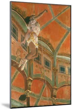 Degas: Miss La La-Edgar Degas-Mounted Giclee Print