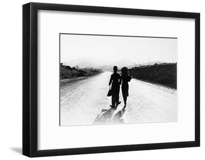 Chaplin: Modern Times, 1936--Framed Giclee Print