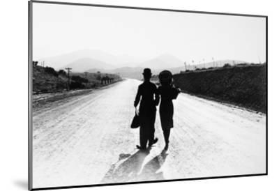 Chaplin: Modern Times, 1936--Mounted Giclee Print