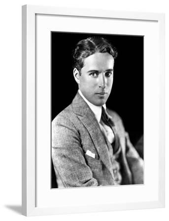 Charles Spencer Chaplin (1889-1977), English Actor and Comedian--Framed Giclee Print