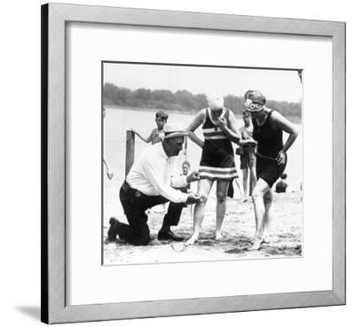 Bathing Suits, 1922--Framed Giclee Print